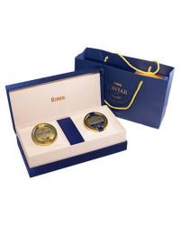 Black sturgeon caviar box