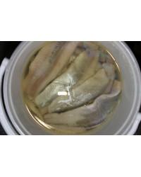 Herring fillets in oil