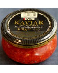 Caviar from salmon