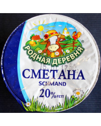 Smetana 20%