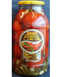 Canned tomatoes, Caucasian