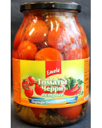 Pickled cherry tomatoes strong