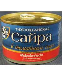 Saira in tomato sauce
