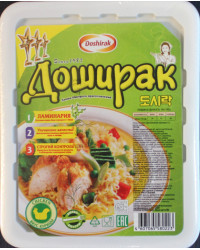 Noodle with chicken flavor