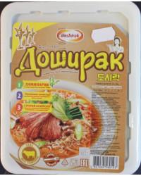 Noodle soup with calf flavor