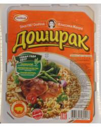 Noodles with pork flavor
