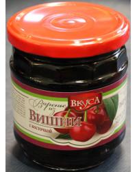 Jam red cherries